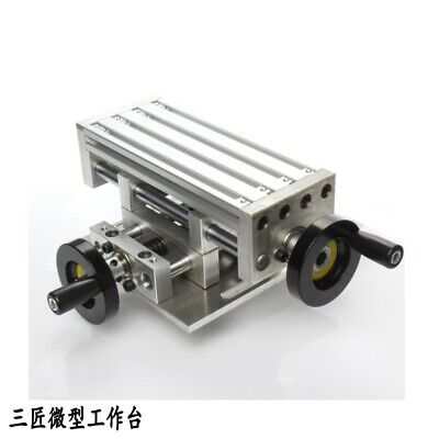 New Working Table Cross Sliding Xy Axis For Lathe Bench Drill