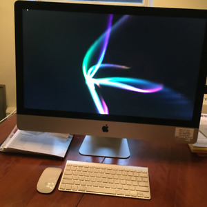 """iMAC 27""""  All-in-one  LATE 2012 model - $1650"""