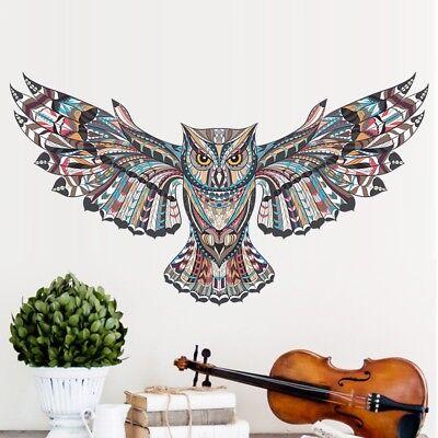 Hot 3D Owl Animal Children  Bedroom Wall Sticker DIY Home Room Decoration Decals