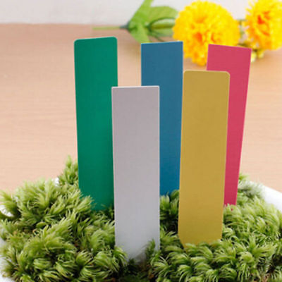 100 Pcs Plastic Plant Seed Labels Pot Marker Nursery Garden Stake Tags