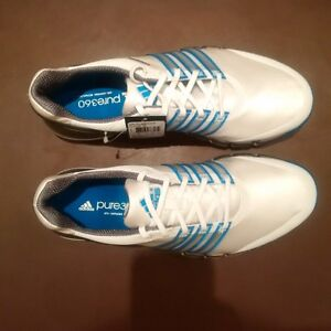 Adidas White Golf Shoes Size 8.5 Brand new, never worn