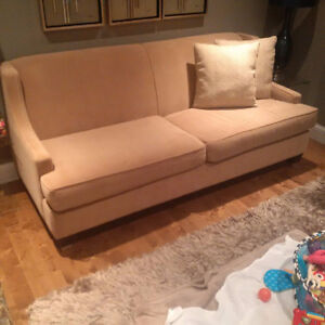 Brentwood Chic Condo Sofa + 2 Millie Chairs Excellent Condition