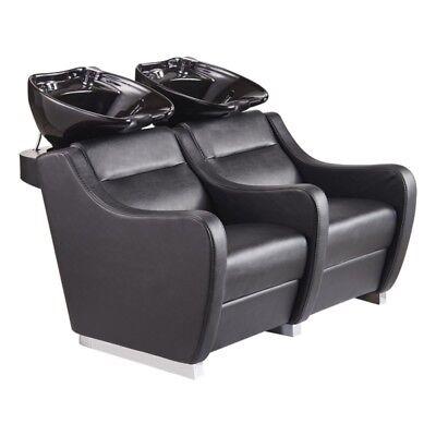 Salon Beauty furniture equipment styling double  Backwash Basin Sink chairs 7899
