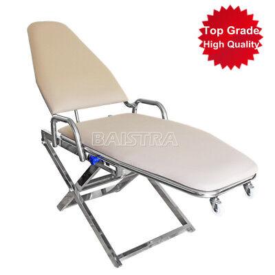 Portable Folding Chair Cuspidor Traytop Grade Dental Non Installation Type New