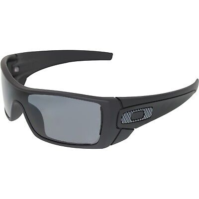 Oakley Men's Polarized Batwolf OO9101-04 Black Shield Sunglasses