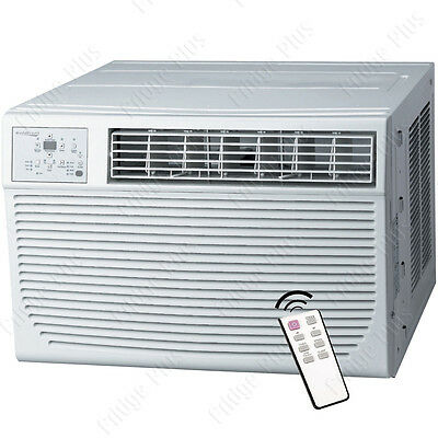 25000 BTU Window Air Conditioner w/ 16000 BTU Heater, 1500 Sq. Ft. Home AC Unit