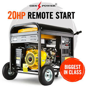 NEW GenPower 20HP Petrol Generator 240V Portable Backup Power Camping Caravan
