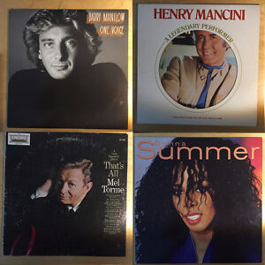 12 Vinyl Records $5 each or $50 for set