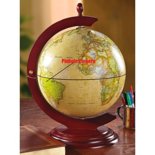 Self Recording Battery Operated Globe Spy Nanny Covert Hidde