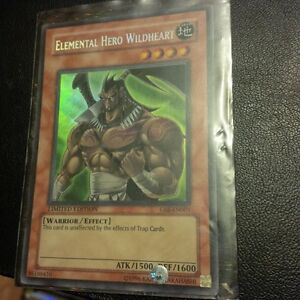 yu-gi-oh Elemental Hero Wildheart GSE-EN001 Kitchener / Waterloo Kitchener Area image 1
