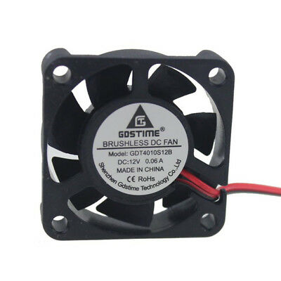 12V 40mm 4010S DC Brushless 2-pin 40x40x10mm CPU / Laser / Printer Cooling Fan