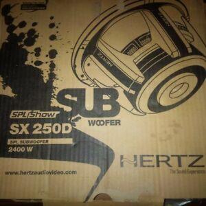 2400watt Hertz speaker brand new in box