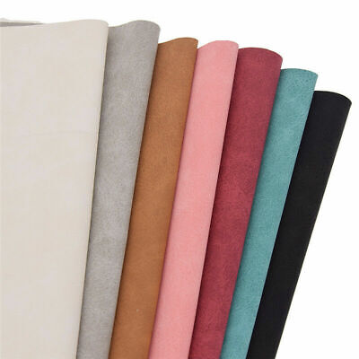Faux Suede Leather Fabric Sew Bag Wallet Making DIY Sewing Handcrafts A4