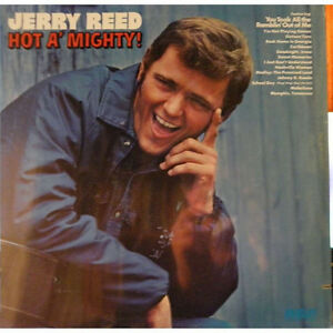 (2) JERRY REED Vinyl Albums - (1) Great Price