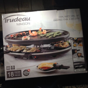 Raclette/ Party Grill set from Trudeau Maison
