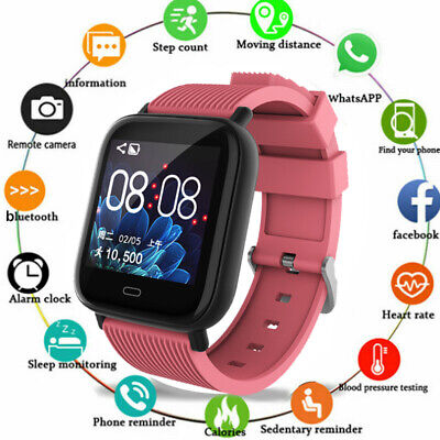 Womens Activity (Women Smart Watch Fitness Activity Tracker For Android iOS HTC Samsung iPhone)