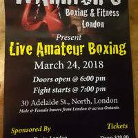 Live Amateur Boxing Returns To London