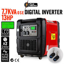 7.7kVA OSE 13HP Pure-Sine Petrol Single Phase Inverter Generator Seven Hills Blacktown Area Preview