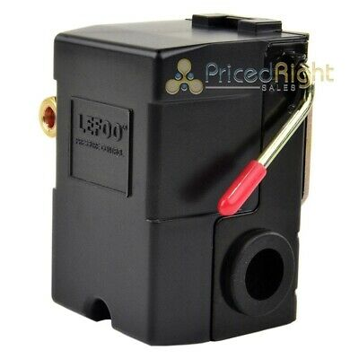 New Hd Pressure Switch For Air Compressor 95-125 Single Port W Unloader