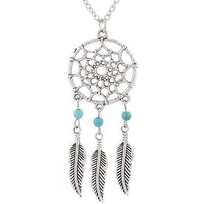 Retro Dream Catcher Pendant Dreamcatcher Necklace Sweater Chain Jewelry Gifts - Dreamcatcher Jewelry