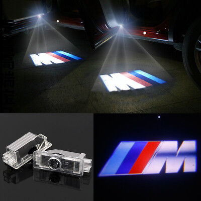For BMW M Logo 6000K Door Ghost Shadow Projector LED Light X3 X5 X6 Z4 2006-2014
