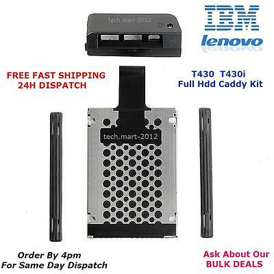 Hard Drive.HDD.Cover.Caddy.T430.T430i.Lenovo.IBM.Thinkpad.BRAND NEW.(FULL KIT).