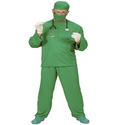 CHIRURG Herren Kostüm Arzt Doktor Beruf Notarzt OP Personal 46 48 50 52 54 (Arzt Chirurg Kostüm)