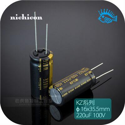 220uf 100v Kz Muse Series Nichicon Japan Original Hifi Audio Capacitor