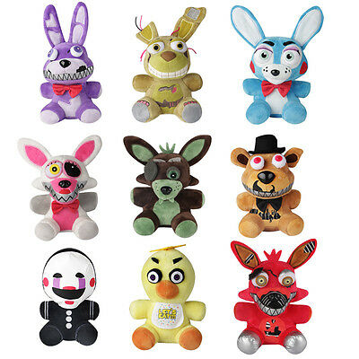 Five Nights At Freddys 4 Fnaf Horror Game Plush Dolls Kids Plushie Toys 7  New