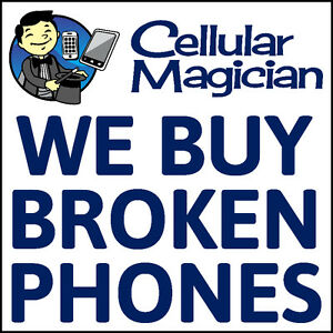Cash for used and broken cell phones!