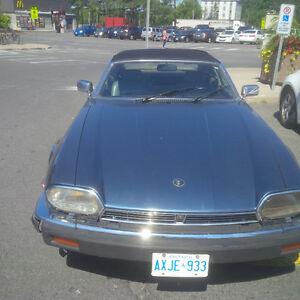 Classic Jaquar XJ12 Convertible