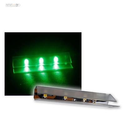 6 Led Illuminazione del Bordo in vetro verde paviento di luce SMD