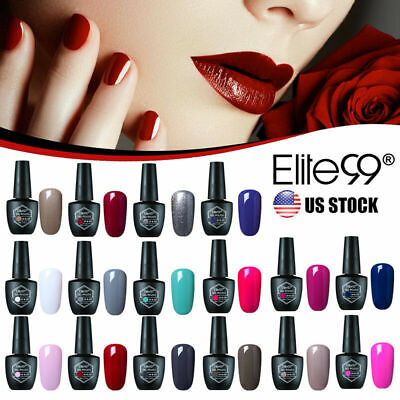 Elite99 Chameleon/Changeable Color Gel Nail Polish Manicure Gift Box Base Top