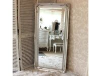 Large Full Size Silver Mirror