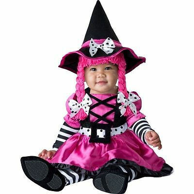 CHASING FIREFLIES GIRL PINK Wee Witch DRESS UP Costume Toddlers 18-24 MONTHS 2T](Toddler Pink Witch Costume)
