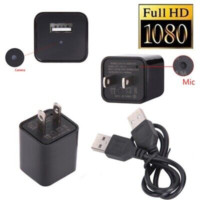 Plug Hidden Small Home Camera WiFi Wireless IP Network Monitor HD Security Cam Home Network Monitoring