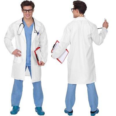 3-teiliges Doktor Arzt Chefarzt Chirurg Herren Kostüm - Kittel, Shirt und (Arzt Chirurg Kostüm)