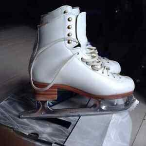 Jackson Competitor skates and Light Matrix Elite blades,