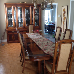 Quality Solid Wood Dining Set