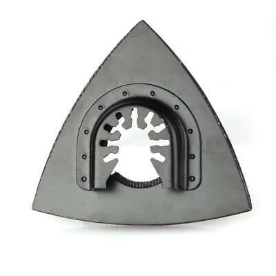 1x 82mm Triangular Sanding Pad Multi Tool Oscillating Sander Saw Blade Pad Us