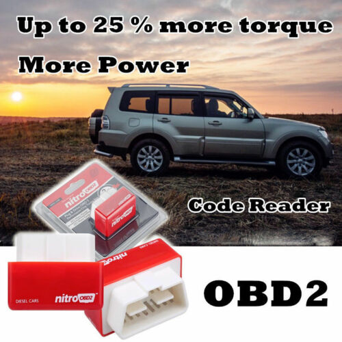 Performance OBD2 Power Box For Diesel Car Chip Tuning ECU Remapping Remap Device