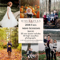 2018 Fall Mini-Sessions now booking