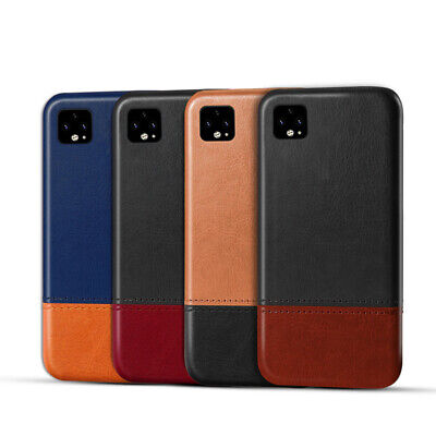 Google Pixel 2 3 3a 4 XL Luxury Ultra-Thin Leather Case Back Bumper Hard Cover