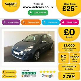 Renault Clio 1.5dCi Dynamique Tom Tom FINANCE OFFER FROM £25 PER WEEK!
