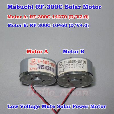 Mabuchi Rf-300c Mini Solar Power Motor Dc 1.5v5v 5500rpm Small Round Toy Motor