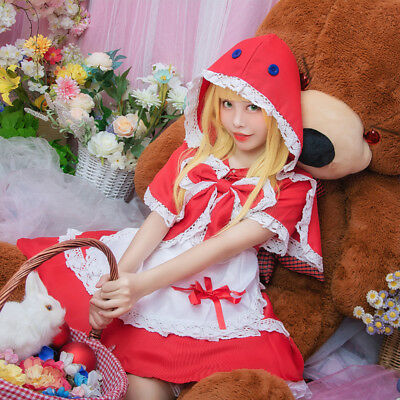 LOL League of Legends Annie Little Red Uniform - Annie Lol Cosplay Kostüm