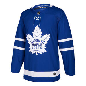 100% AUTHENTIC BLUE ADIDAS LEAFS JERSEYS!!
