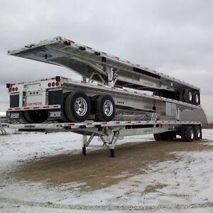 Flat Bed Full aluminium LodeKing 48' Fabriqué au Canada en $ CDN
