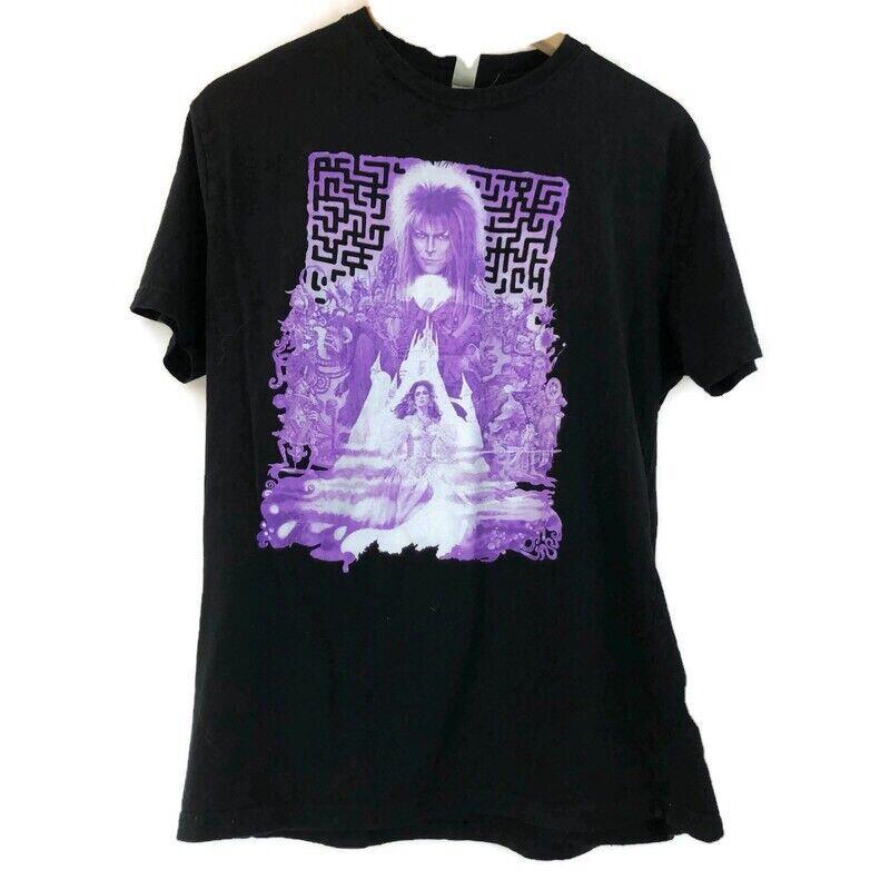 David Bowie Labyrinth T-Shirt Large Jim Henson Muppets