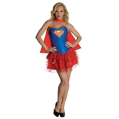 Sexy Super Girl Superwoman TuTu Dress Women Costume for Cosplay Halloween Party - Superwoman Tutu
